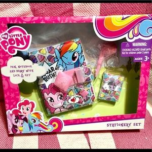 NIB My Little Pony💕Stationary set